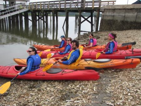 Dr. Nancy Foster Scholars embark on their kayaking adventure
